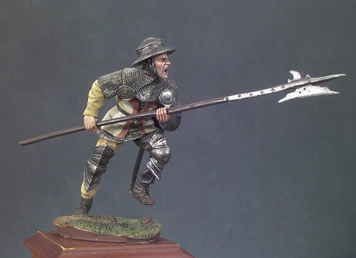 SM-F45 - Halberdier, 1415 (Battle of Agincourt)