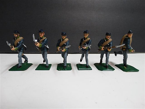 MI-166 - Union Infantrymen, 6 Figures (Wall, No Box)