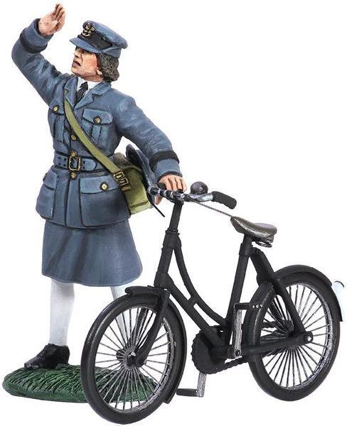 25018 - WAAF with Bicycle, 1943