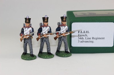 FLI.11 - 3 Advancing, Set 1, 4th Centre Company