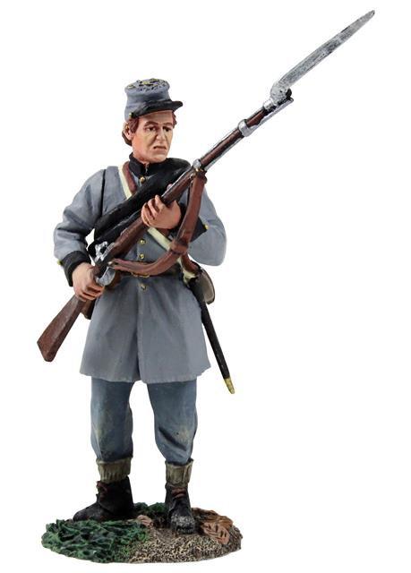 31258 - Confederate Infantry Texas Brigade Standing Defending No.1