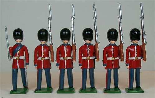 B215 - British Coldstream Guards - 6 pieces