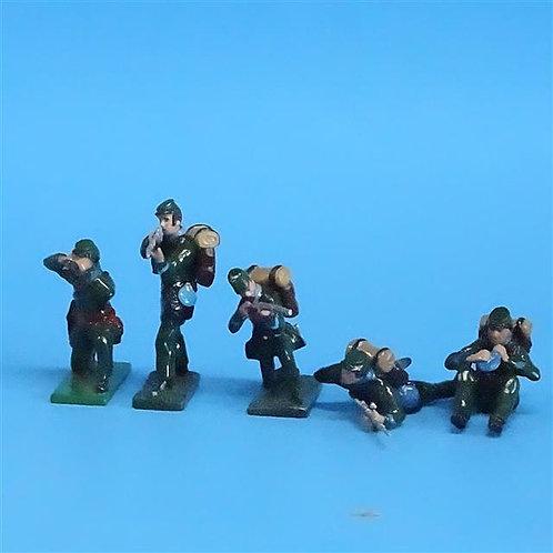 CORD-056 -Berdan's Sharpshooters (5 Figures) - Manufacturer Unknown - 54mm Metal