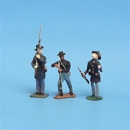 CORD-200 - Iron Brigade (3 Figures) - Manufacturer Unknown - 54mm Metal - No Box