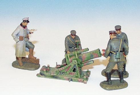 EGW.1 - 245 mm Trench Mortar, 4 Crew Loading, British Artillery