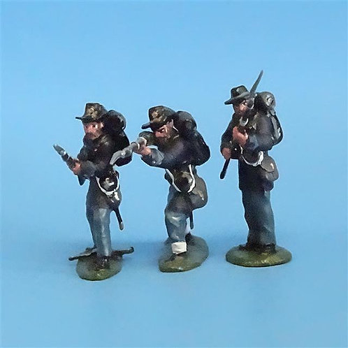 CORD-164 - Iron Brigade Firing Loading (3 Figures) - ACW - Manufacturer Unknown