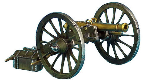 NAP406 - French 6lb Cannon
