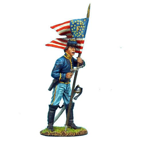 ACW025 - Union Dismounted Cavalry Standard Bearer
