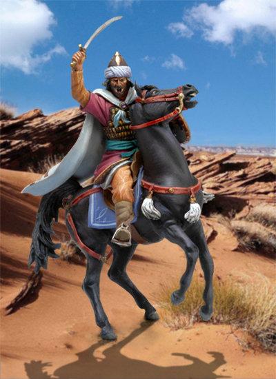 SM-F56 - Saladin on Horseback, 12th Century