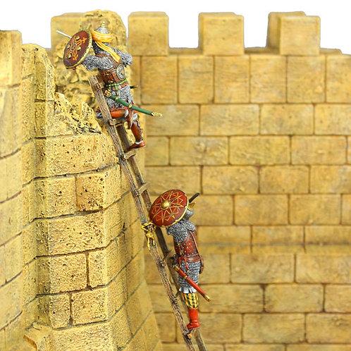CRU043 - Mamluk Warriors Scaling Ladder (Wall not included)