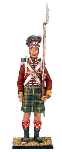 NAP0211 - 92nd Gordon Highlander Standing