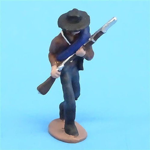 CORD-0863 Confederate Marching- ACW - Unknown Manufacturer - 54mm Metal - No Box