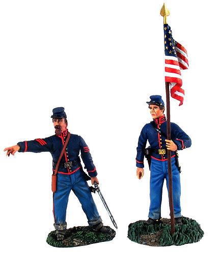 31137 - Union Artillery Command Set No.2, NCO and Battery B