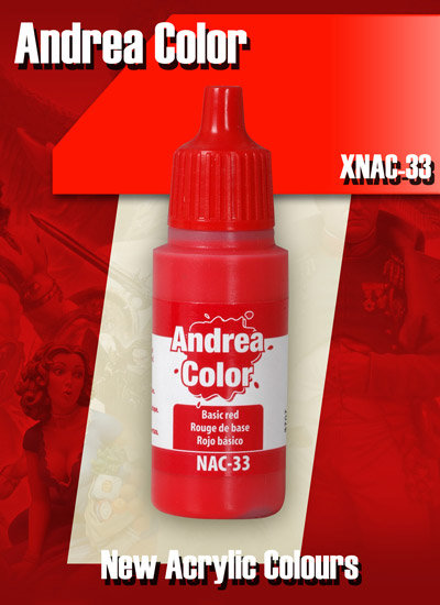 XNAC-33 - Basic Red - Andrea Color