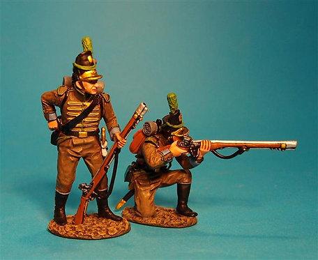 CAZ-03 - Portuguese 1st Cazadores, 1809 Loading and Firing #3