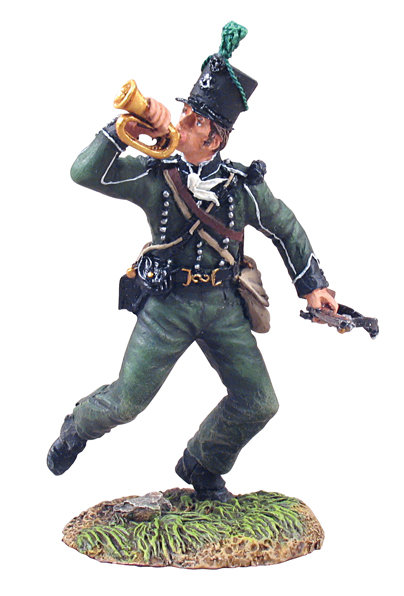 36045 - British 95th Rifles Bugler Advancing No.1