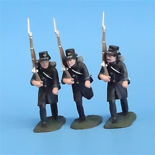 CORD-158 Iron Brigade Marching (3 Figures) - Soldiers of the World - 54mm Metal