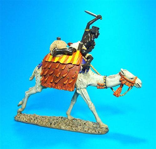 MADCAM-01 - Beja Warrior Charging on Camel
