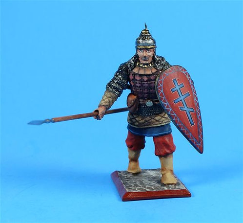 3205 - Medieval Russian Warrior 6