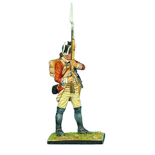 AWI048 - British 22nd Foot Standing Ready - Head Variant 1
