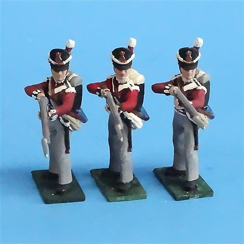 CORD-N0192 British Infantry - Standing Firing (3 Pieces) - Soldiers of the World