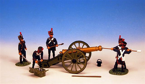 FLA.1 - 12 lb Cannon, with 5 Man Crew, Line Artillery