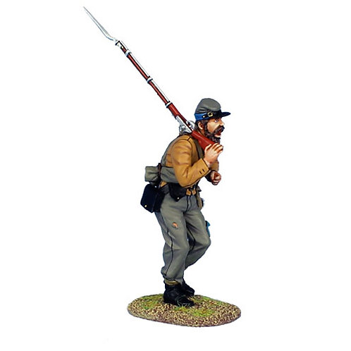 MB012 - Confederate Infantry Advancing