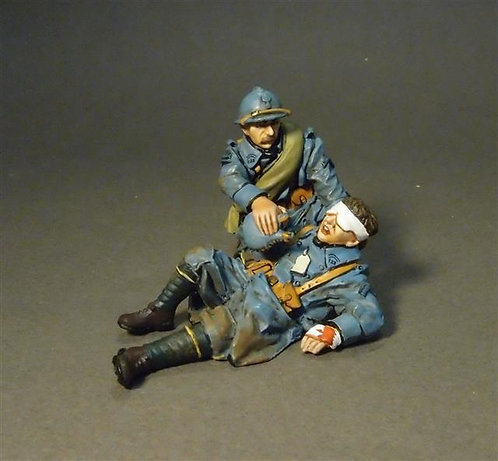 GWF-29 - 123e Regiment of Infantry  The Angel  French Infantry 1917-1918