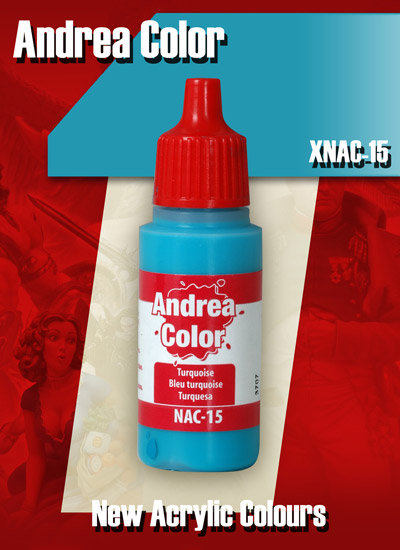 XNAC-15 - Turquoise - Andrea Color