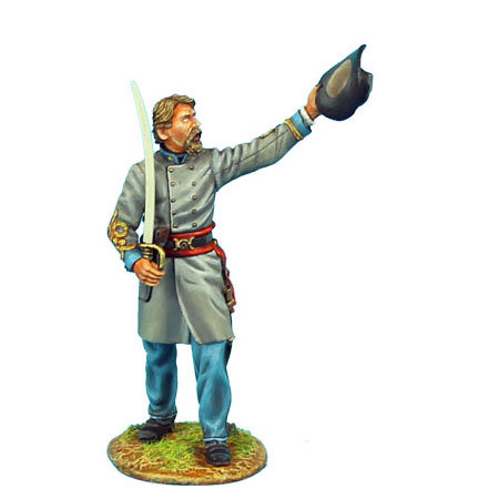 ACW041 - Confederate Major Raising Hat