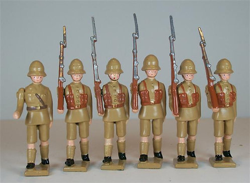 B645 - 1st Battalion, Northamptonshire - 6 pieces
