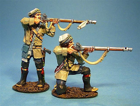 QFM-08 - French Marines in Campaign Dress Firing 2 (2pcs)