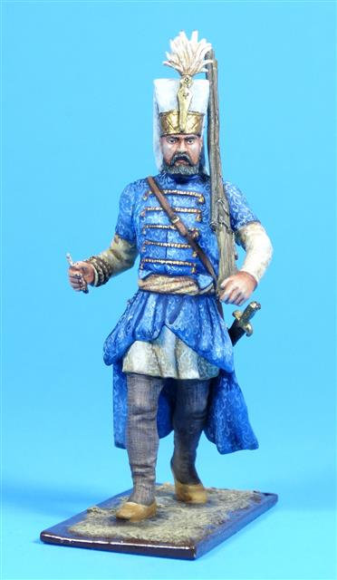 46-413 - Turkish Janissary with Musket, 18th Century