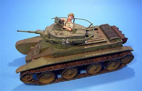 REP-01A - Spanish Civil War - Republican Tank Commander (Tank Not Included)