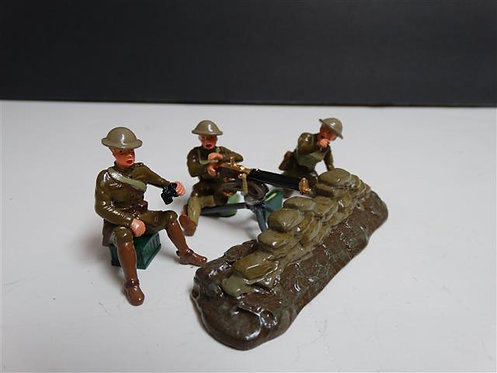 41148 - Browning Machine Gun and U.S. Detachment (Glossy)