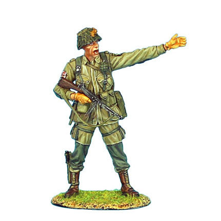 NOR001 - US 101st Airborne Captain with Thompson SMG