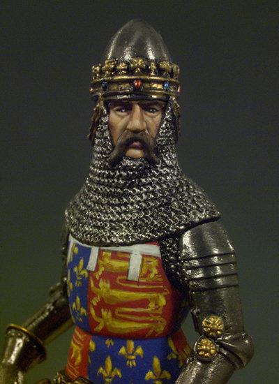SM-F01 - Edward, The Black Prince (1330-1376)