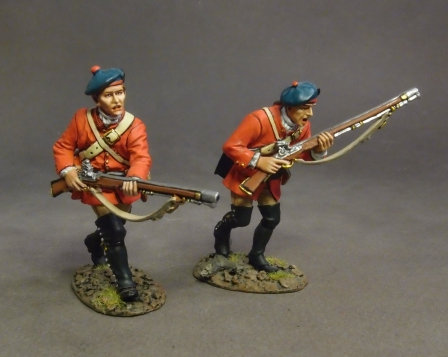 BRLX-07 - 77th Regiment of Foot, 2 Grenadiers Charging