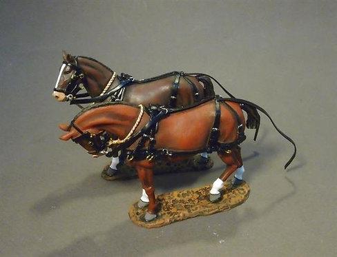 GWB-17 - Supply Wagon Horses