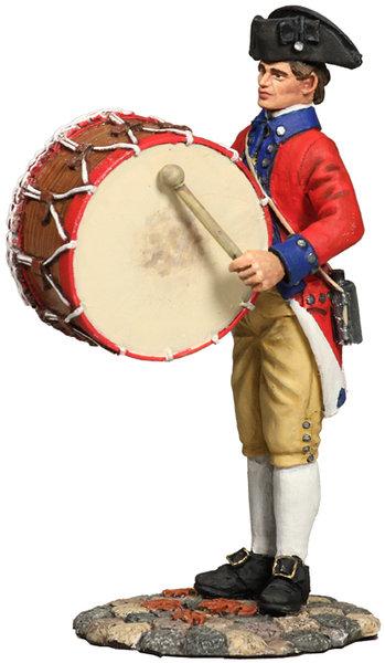18034 - Virginia State Garrison Bass Drummer, 1770's