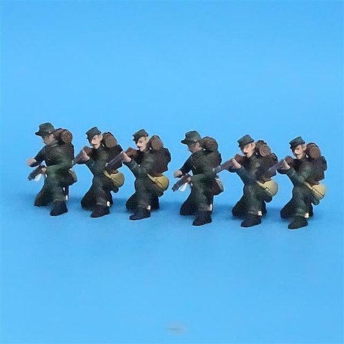 CORD-043 - Berdan's Sharpshooters Kneeling (6 Figures) - Frontline - 54mm Metal
