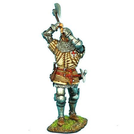 MED009 - English Man-at-Arms with Axe