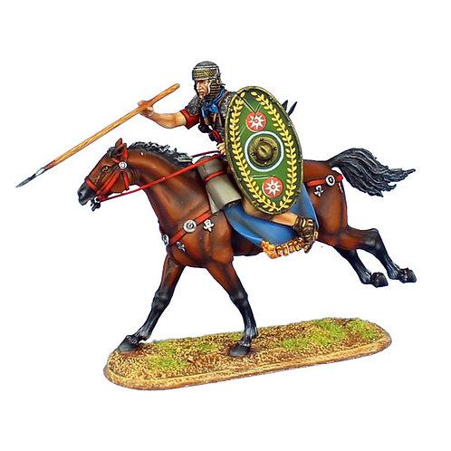 ROM122 - Imperial Roman Auxiliary Cavalry Throwing Javelin - Ala II Flavia