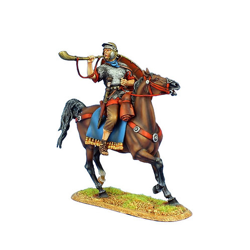 ROM119 - Imperial Roman Auxiliary Cavalry Trumpeter - Ala II Flavia