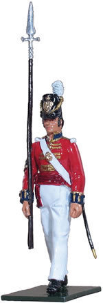 48003 - Coldstream Regiment of Foot Guards of 1815 - Marching at Advance Arms