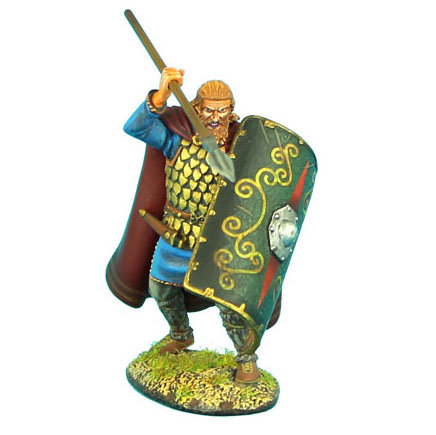 ROM038 - Noble German Warrior with Spear and Shield