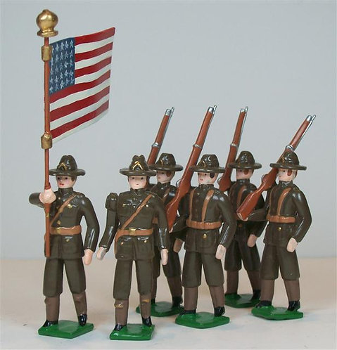 A420 - US Infantry First World War - 6 figures