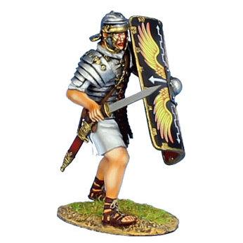 ROM151 - Imperial Roman Legionary with Gladius - Legio II Augusta