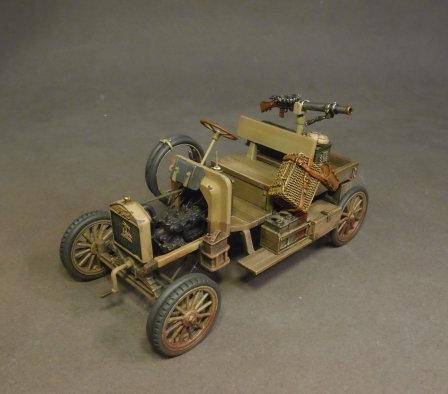 "WAD-21 - Australian 1st Light Car Patrol 1917,  Ford Model T,  ""Bung""  (2pcs)"