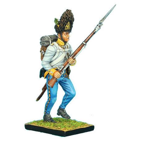 NAP0305 - Austrian Hahn Grenadier Advancing Raised Musket